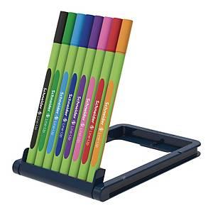 Cienkopis SCHNEIDER Line-up, etui 8 kolorów