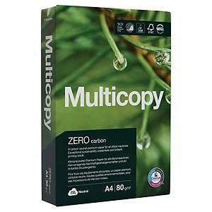 Papier multiusages Multicopy Zero A3, 80 g/m2, blanc, emballage de 500 feuilles