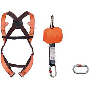 DeltaPlus Elara140 Fall protection kit with Self retractable fall arrester