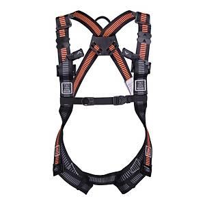 Deltaplus HAR22 Harness Black & Orange - XL/2XL
