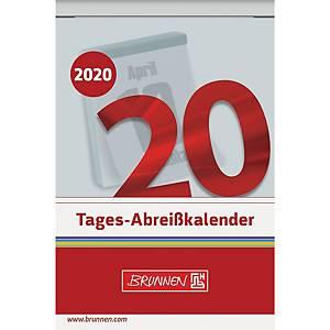 Tagesabreißkalender 2020 Brunnen 70304, 1 Tag / 1 Seite, 6,5x10cm