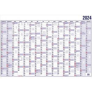 Plakatkalender 2020 Güss 19000, 16 Monate / 1 Seite, 40 x 30cm