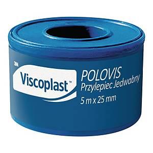Przylepiec Viscoplast Polovis Plus, 25 mm x 5 m
