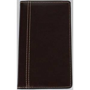 Brepols Interplan 736 pocket diary with Palermo deluxe cover brown