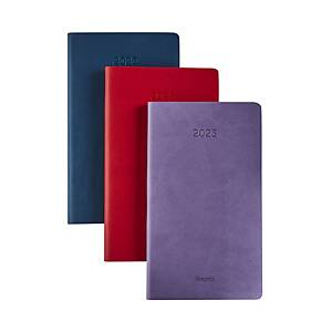 Brepols Interplan 736 Colora pocket diary with flexible cover - assorted colours