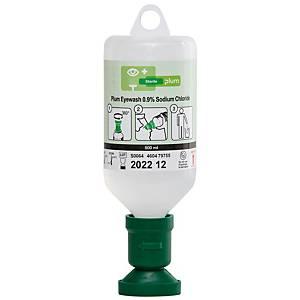 Augenspülfl. mit steriler Natriumchloridlösung Plum 4604, 500 ml, 3 Jah. haltbar