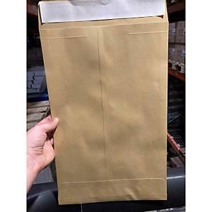 Tašky samolepicí hnědé B4 Lyreco (250 x 353 mm), 100 kusů/balení