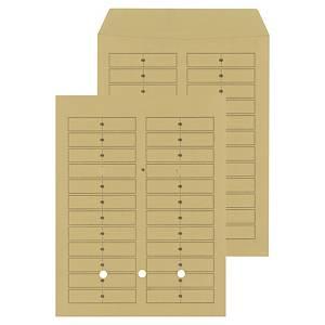 Enveloppen voor interne post, crèmekleurig, 120 g, 260 x 330 mm, 250 omslagen