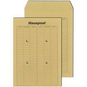 Obálky hnedé na internú poštu, (260 x 330 mm), 250 kusov/balenie