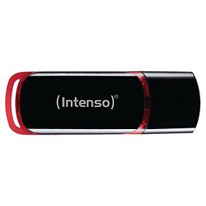 Clé USB Intenso Business Line - USB 2.0 - 32 Go - noir/rouge