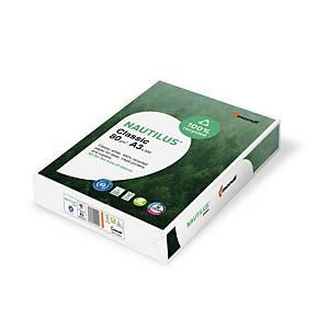 Kopierpapier Nautilus Classic A3, 80 g/m2, weiss, Pack à 500 Blatt