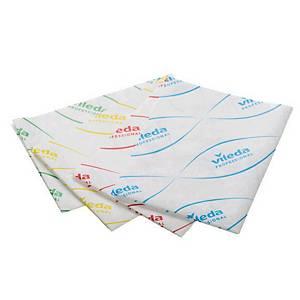 Vileda MicroLite 60 Cloths Blu - Pack of 100