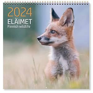 CC 5681 Eläimet seinäkalenteri 2021 300 x 600 mm