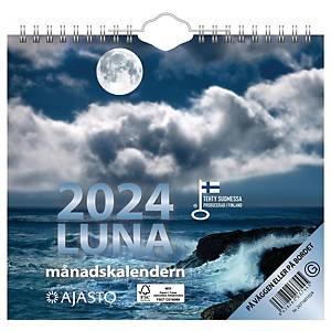 Ajasto Luna seinäkalenteri 2021 200 x 180 mm