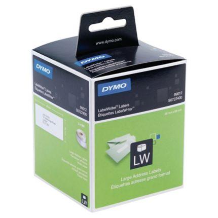 zu Dymo 99012 36 x 89 mm 260 Label Etiketten pro Rolle 2x Label kompat