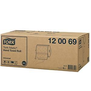 Pack 6 bobinas de toalhas de mãos Tork Universal - 150 m - Folha dupla - branco