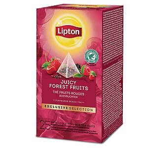 Lipton Exclusive Selection Juicy Forest Fruits - Box of 25 bags