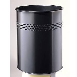 Twinco roska-astia metalli 14,7L musta