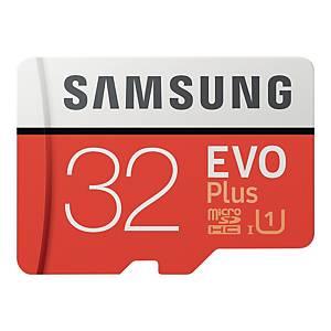 SAMSUNG EVO+ 32GB MEMORY CARD