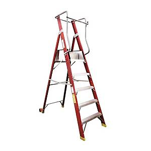 JIMAO FO25-105 Fiberglass Ladder