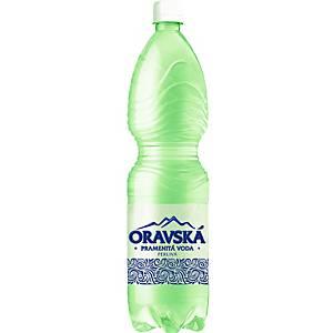 Pramenitá voda Oravská, perlivá, 1,5 l, balenie 6 kusov