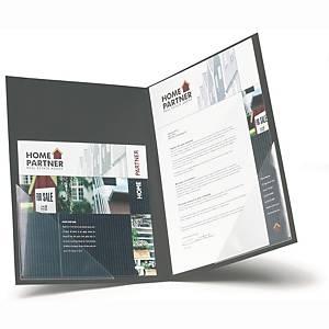 Pochettes coin adhésives 3L Office, 17 x 17 cm, le paquet de 6 pochettes