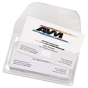 3L füles névjegykártyatartó zseb, 10 darab/csomag
