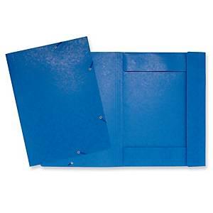 Exacompta kulmalukkokansio A3 sininen, 1 kpl=5 kansiota