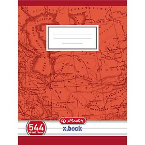 HERLITZ 544 SCHOOL NOTEBOOK A5 RUL