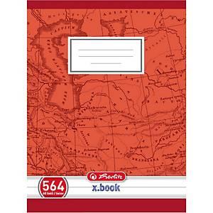 Herlitz 564 iskolai füzet, A5, vonalas, margóval