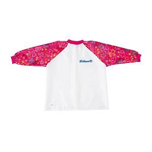 Herlitz Kindermalschürze für Mädchen mit langem Ärmel rosa