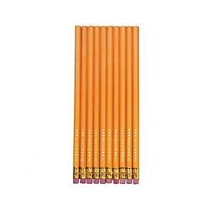 Herlitz ceruza radírgumival - HB, keménység: 2, 10 db