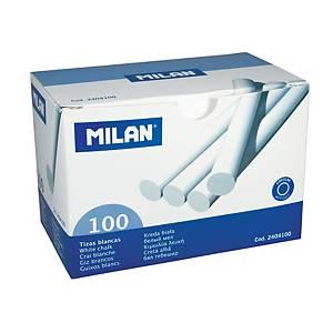 BX100 MILAN CHALK ROUND WHITE