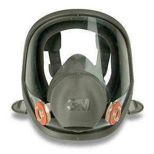 3M 6700S Full Face Mask Silicone Small