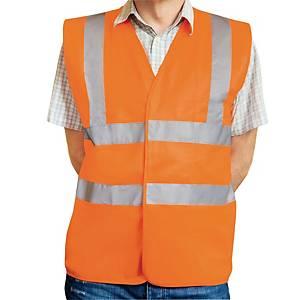 Warnschutzweste Eskon Klasse 2, Grösse M, orange