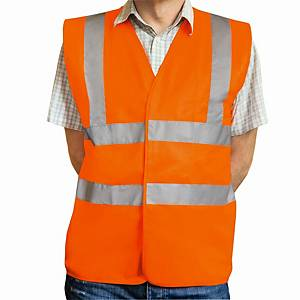 Warnschutzweste Eskon Klasse 2, Grösse L, orange