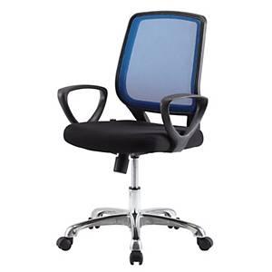WORKSCAPE เก้าอี้สำนักงาน IRENE ZR-1001 สีน้ำเงิน/ดำ