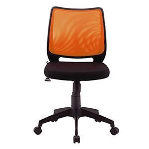 WORKSCAPE เก้าอี้สำนักงาน ALICE  ZR-1002 สีส้ม/ดำ