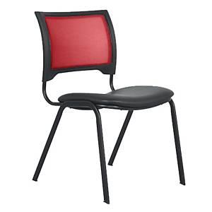 ACURA เก้าอี้จัดเลี้ยง/เก้าอี้พักคอย DV/C แดง