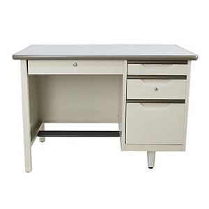 APEX ATC-2648 STEEL OFFICE DESK CREAM