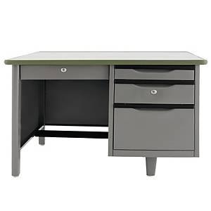 APEX ATC-2648 Steel Office Desk Grey