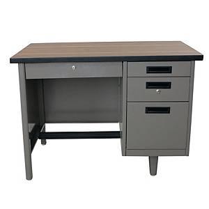 APEX โต๊ะทำงานเหล็ก ANT-2642 เทา