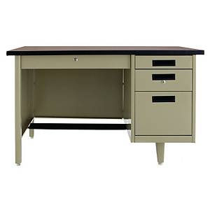 APEX ANT-2648 STEEL OFFICE DESK CREAM