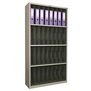 LUCKY S-666N STEEL FILING SHELF GREY
