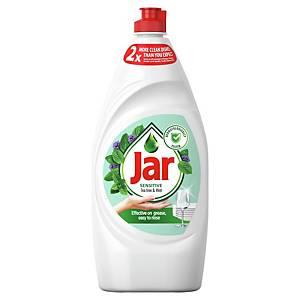 Prostriedok na ručné umývanie riadu Jar Sensitive, tea tree/ mint, 900 ml