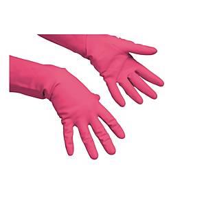 Latexové rukavice vileda® profi, velikost L, červené