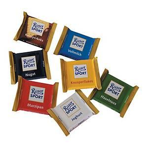 Ritter Sport mini csokoládék 16,67 g, 84 darab/csomag