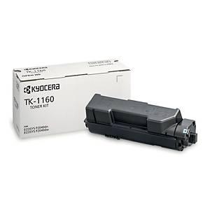 Toner Kyocera TK-1160, Reichweite: 7.200 Seiten, schwarz