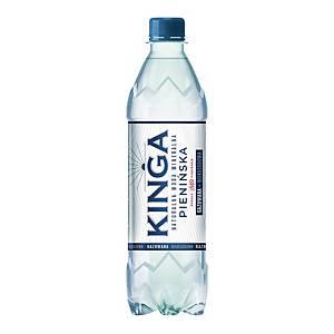 Woda mineralna KINGA PIENIŃSKA gazowana, zgrzewka 12 butelek x 0,5 l