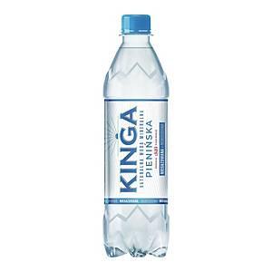 Woda mineralna KINGA PIENIŃSKA niegazowana, zgrzewka 12 butelek x 0,5 l